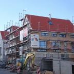 Ulm Giebelreihenhäuser am Klosterhof Februar 2014 (3)