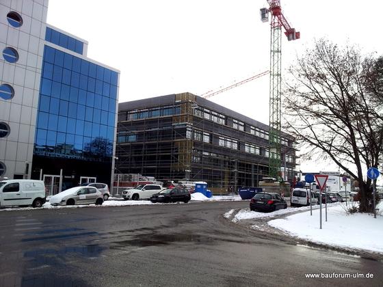 Ulm Bürogebäude-Ensemble Businesspark 3  Weststadt Einsteinstraße Dezember 2012 (1)