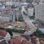 Neu Ulm  Marienstraße Insel  Neubau Sparkasse  Brückenhaus Mai 2014 (2)