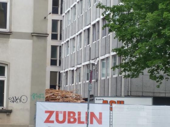 Ulm Abriss Justizhochhaus