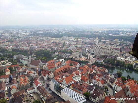 Ulm Neu Ulm  Panorama Baustellen Übersicht August 2013 (6)