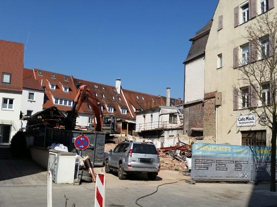 Ulm Neubau Zentrum Söflingen März 2015