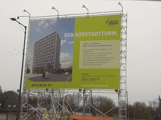 Neu Ulm   Südstadtbogen   November 2017