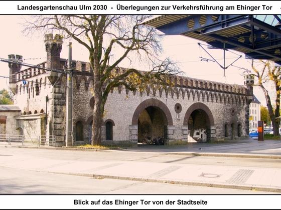 LGS Ulm 2030 - Überlegungen zur Verkehrsführung am Ehinger Tor 04 17x12cm