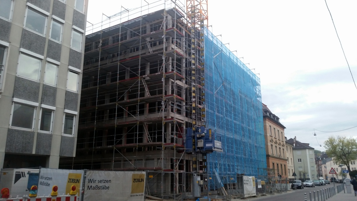 Neubau Justizzentrum Bauabschnitt 1