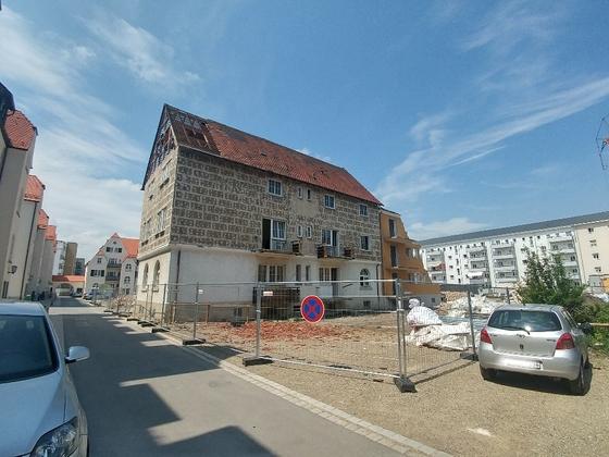 Ulm Neubau Postdörfle Wörthstraße Mai 2018