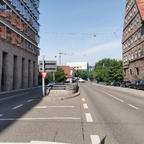 Ulm Neubau Neue Straße Juli 2019