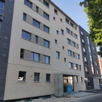 Ulm, Neubau, Quartier, Schwamberger Hof, Mai 2020