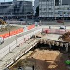 Ulm Tiefgarage am Hbf September 2017
