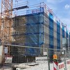 Ulm, Neubau Juwelier am Münsterplatz, April 2021