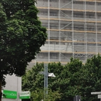 Neu-Ulm Fassaden Sanierung Donau Center Juni 2020