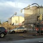 Ulm Wohn- und Einkaufsquartier Sedelhöfe  Abriss der Bestandsbebauung August 2013 (2)