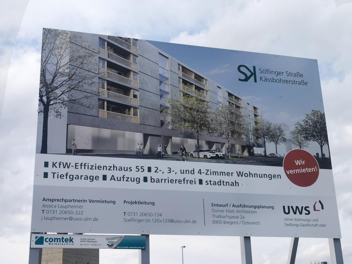 SK, Neubau, Söflinger Straße