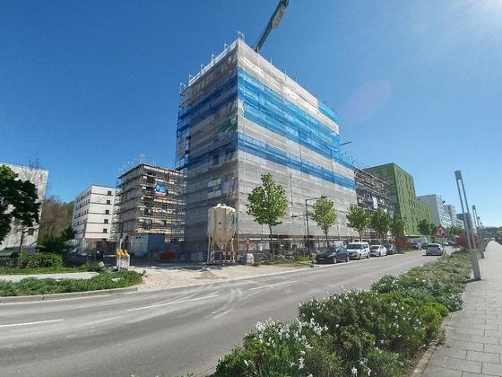 Neubauten Glacispark 1-2—3 Mai 2017