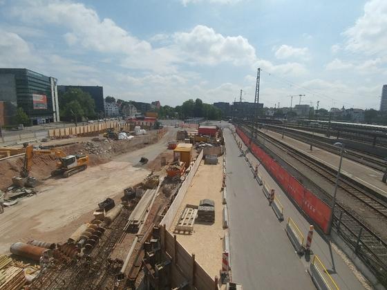 Ulm Bahnhofstiefgarage Mai 2018