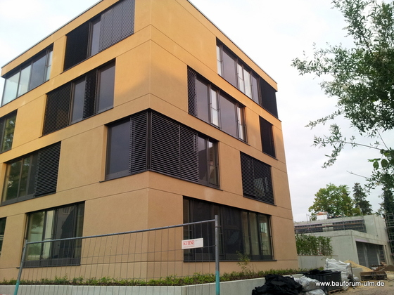 Ulm Königstraße Neues Gemeindehaus  Wohnanlage Juni 2013 (2)