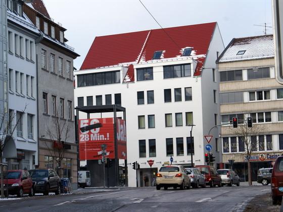 Ulm Umbau & Aufstockung Wohn & Geschäftshaus Neue Strasse (16)