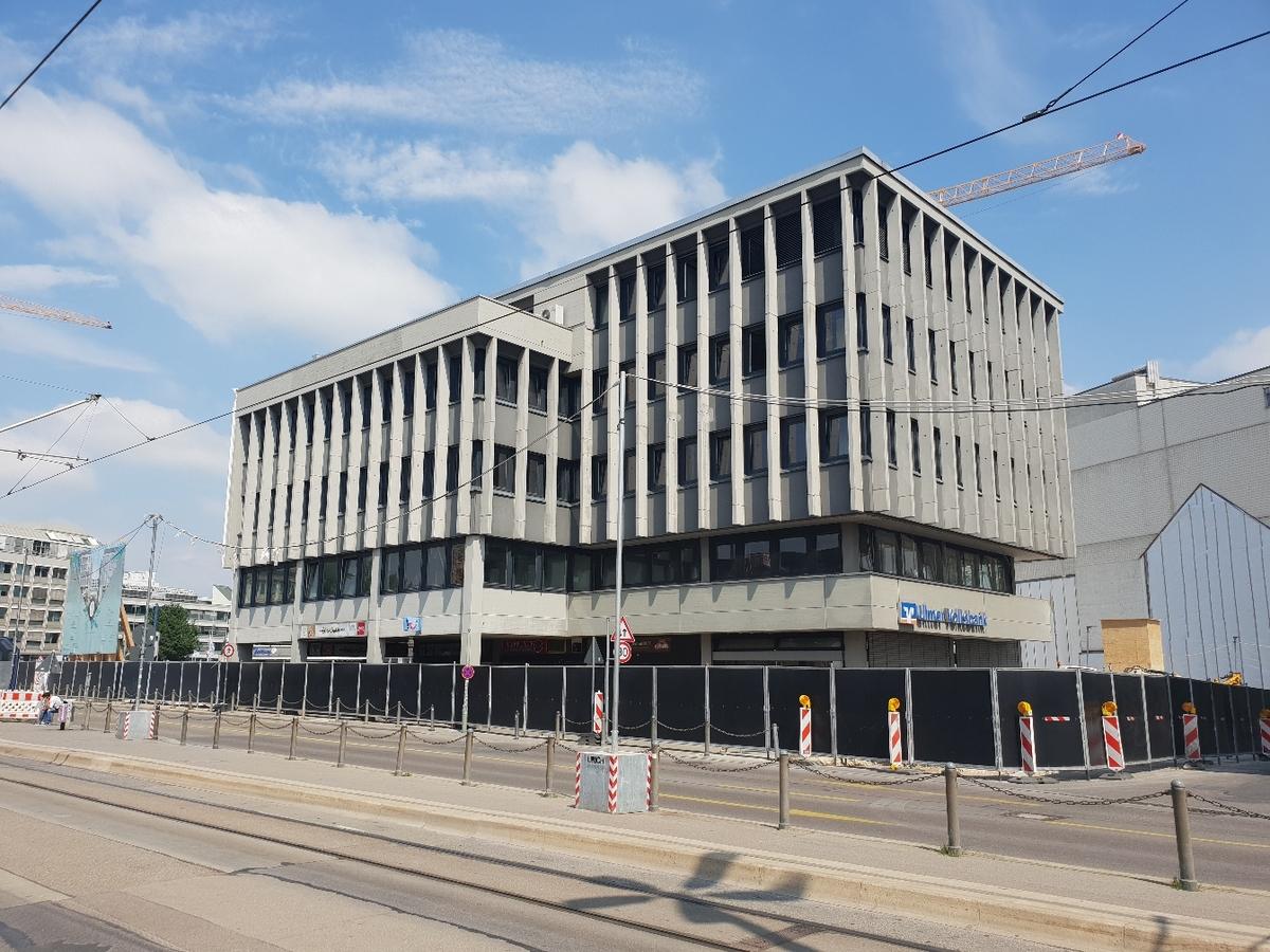 Ulm Abriss Bahnhofstraße 7 Mai 2018