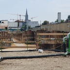 Neubau Dichterviertel Ulm September 2018