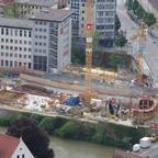 Neu Ulm  Marienstraße Insel  Neubau Sparkasse  Brückenhaus Mai 2014 (3)