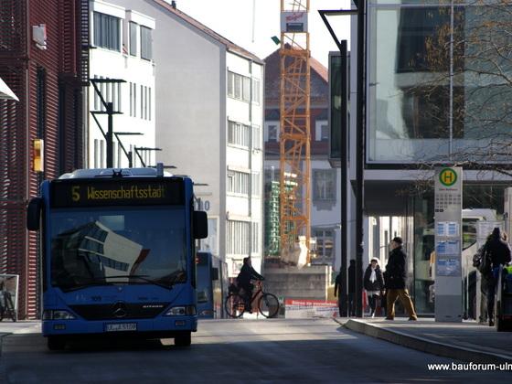 Ulm Wohn und Geschäftshaus  Frauenstraße - Neue Straße - Schlegelgasse März 2013