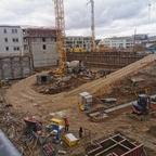 Ulm, Söflingen, Neubau, Quartier, Februar 2020