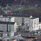 Neu Ulm  Künetteweg Jules et Jim  Wohngebäude mit integrierter Kindertagesstätte Januar 2014