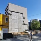 Ulm, Neubau Apotheke, Ärztehaus, Bahnhofstraße 13, August 2020