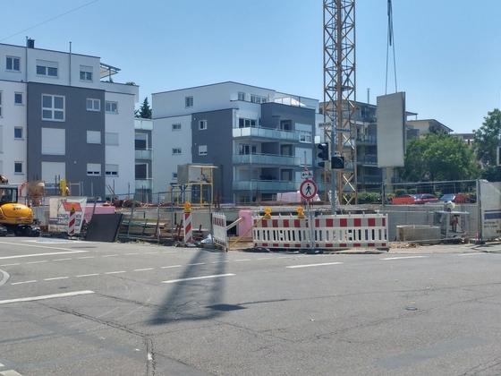 Ulm Elisabethenstraße Neubau
