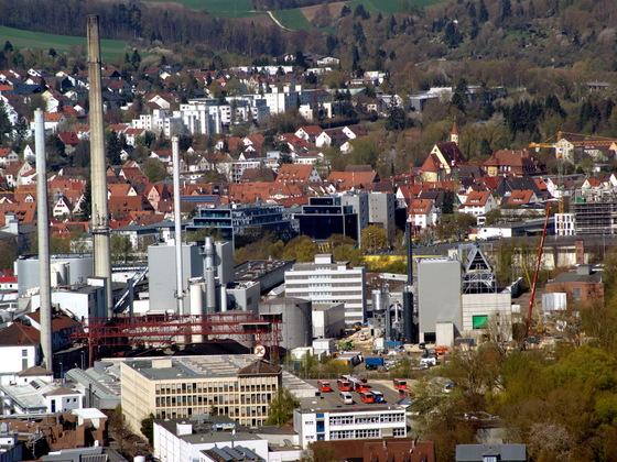 Ulm Bürogebäude-Ensemble Businesspark  Weststadt Einsteinstraße  (3)
