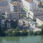 Neu Ulm Neubau Donau Ufer Juni 2018