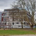 Neubau an der Blau März 2019