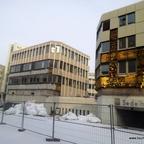 Ulm Wohn- und Einkaufsquartier Sedelhöfe  Abriss der Bestandsbebauung Februar 2013 (1)