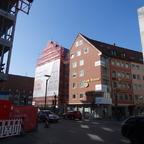 Ulm Neue Straße Erweiterung Hotel Goldenes Rad März 2014