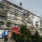Ulm Griesgasse Wohn Neubau Januar 2015