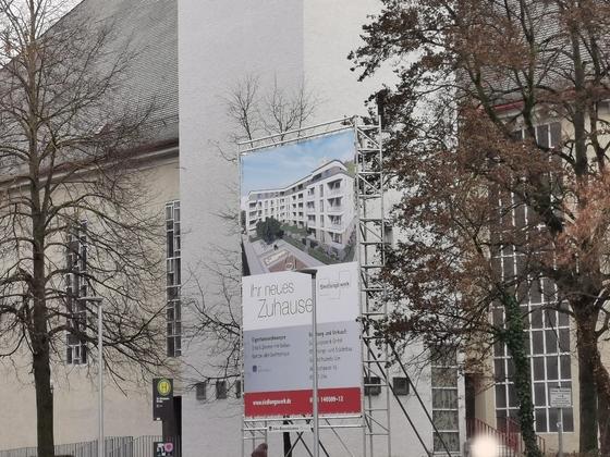 Ulm, Neubau, Suedlungswerk Dezember 2019
