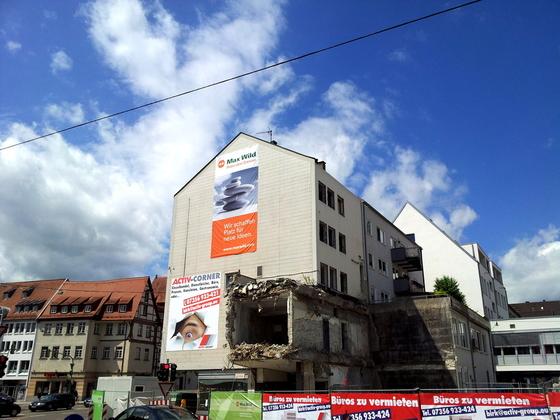 Ulm Wohn und Geschäftshaus  Frauenstraße  Neue Straße Schlegelgasse (7)