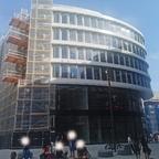 Ulm, Wohn und Einkaufsquatier Sedelhöfe, Juli 2020