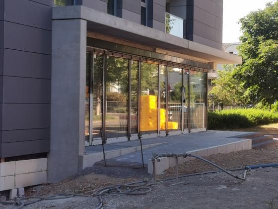 Ulm, Neubau, Quartier, Schwamberger Hof, Juli 2020
