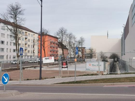 Neu-Ulm Neubau Parkhaus Januar 2020