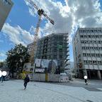 Ulm, Neubau Apotheke Ärztehaus, Juli 2021