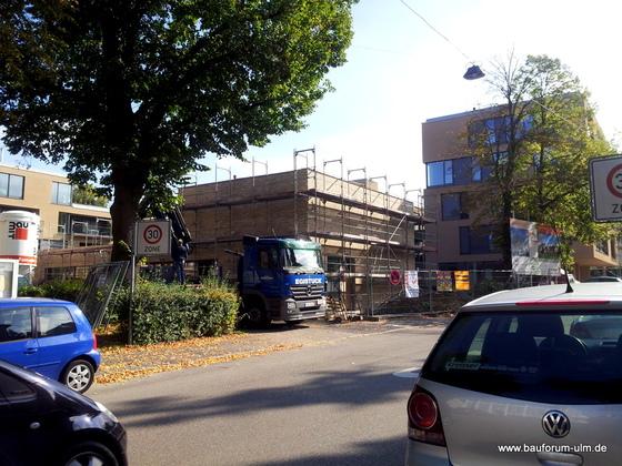 Ulm Königstraße Neues Gemeindehaus  Wohnanlage Oktober 2013 (1)