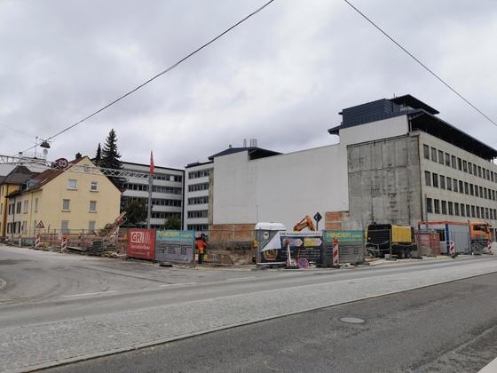 Ulm Neubau Karlstraße