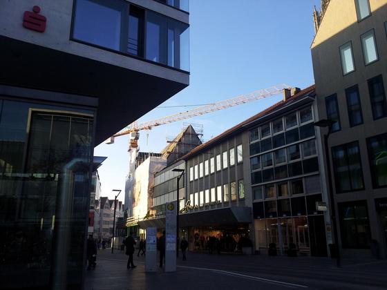 Ulm Neue Straße 71 Aufstockung Wohn und Geschäftshaus Jan 2014