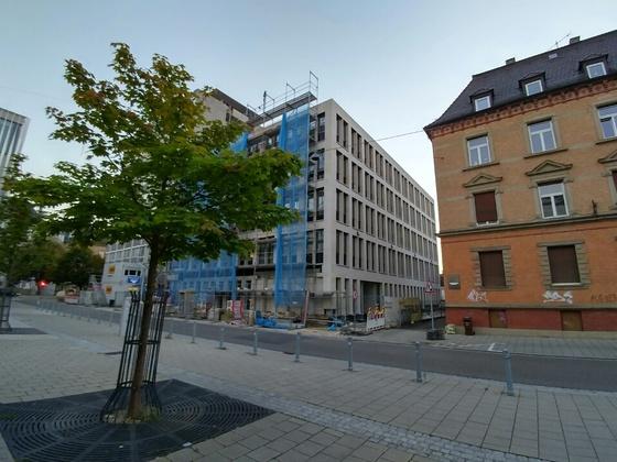Fertigstellung Justizzentrum 1 Bauabschnitt
