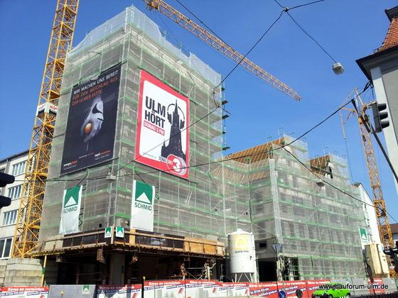 Ulm Frauenstraße  Neue Straße Schlegelgasse Wohn und Geschäftshaus Juli 2013 (4)