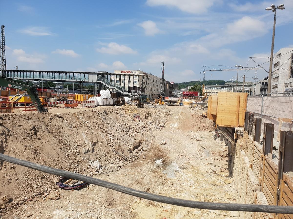 Ulm Tiefgarage Bahnhofstraße Mai 2018