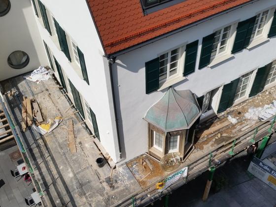Ulm Aufstockung  Umbau  Sanierung Neue-Straße 71 Juni 2014 (1)