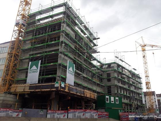Ulm Frauenstraße  Neue Straße Schlegelgasse Wohn und Geschäftshaus Mai 2013