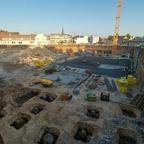 Baugrube Dichterviertel